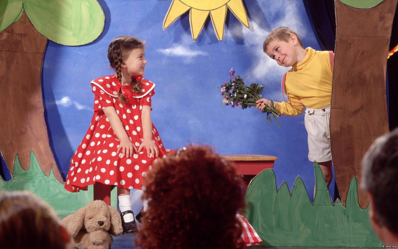 Экспромт театр для детей на новый год